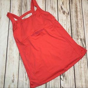 Athleta tank top with build in bra